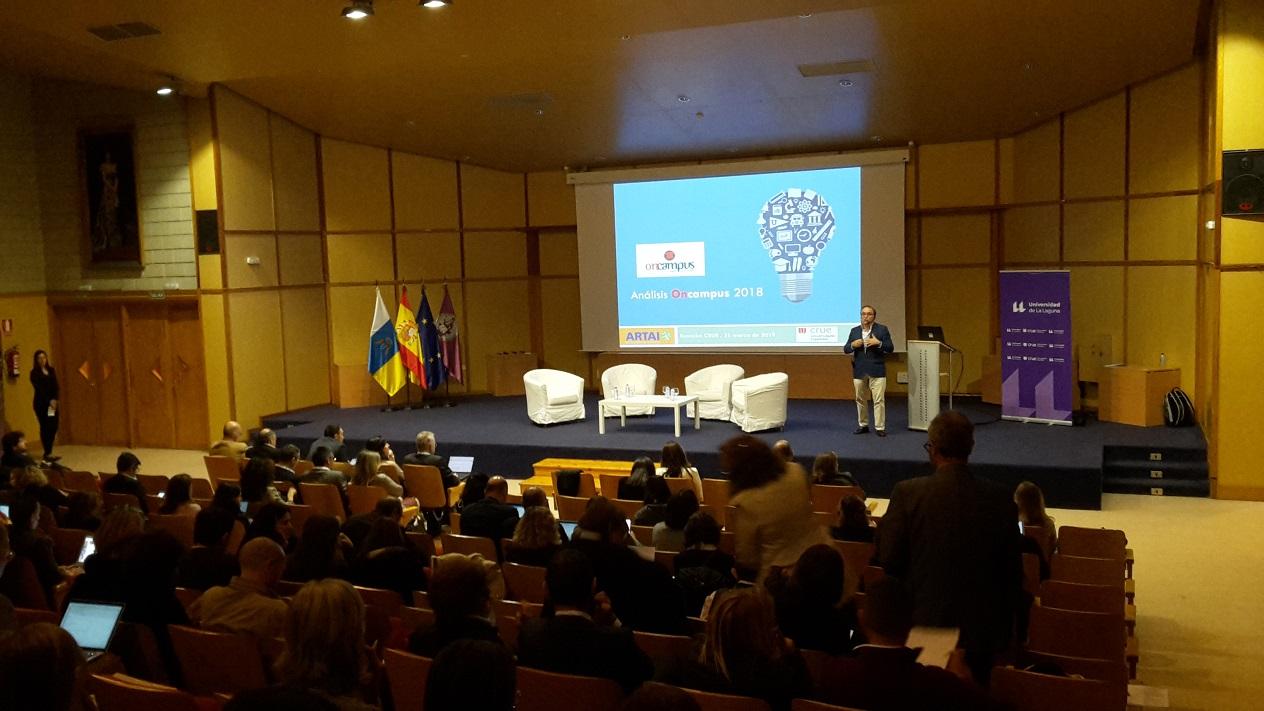 Jesús Silva, Director Asociado de ARTAI, en las XV Jornadas de Internacionalización y Cooperación de las Universidades Españolas